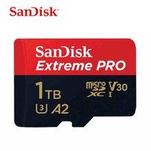 SanDisk ekstremalny profesjonalista 1TB karta pamięci micro sd klasa 10 cartao de memoria U3 A2 V30 1TB karta pamięci tf