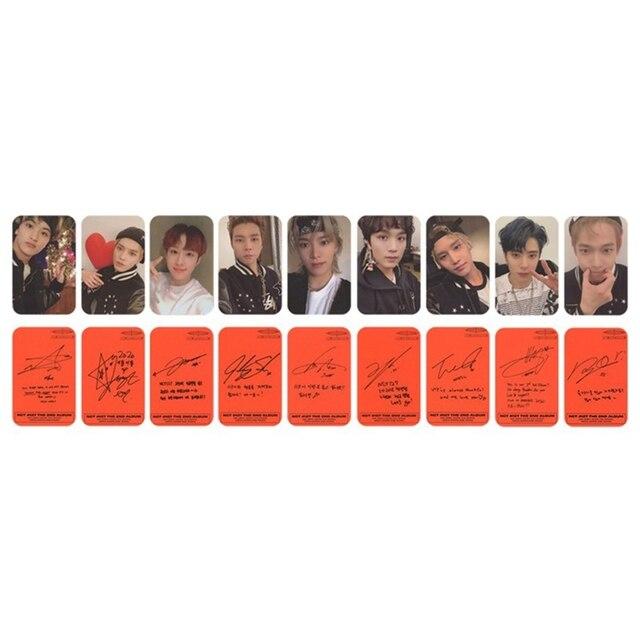 9PCS/Set Kpop NCT 127 Neo Zone New Album Photocard  3