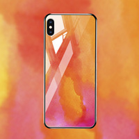 silicone case Tempered Glass Case For apple iphone XS MAX XR X XS glass Cases Space Silicone Covers for Iphone 6 6s 7 8 plus back cover (5)