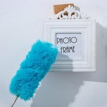Limpador de pó macio da escova do espanador de microfibra não pode perder a limpeza estática dustproof da mobília do carro da casa da escova da ar-condição do cabelo