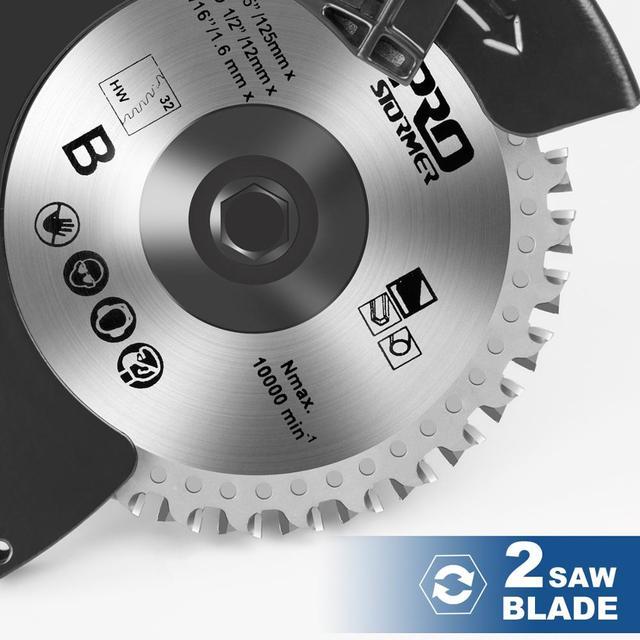 1050W Electric Circular Saw Fast Cutting Wood Metal Marble Tiles,230V Mini Electric Saw Dual Blade Metal Cutting Machine 5