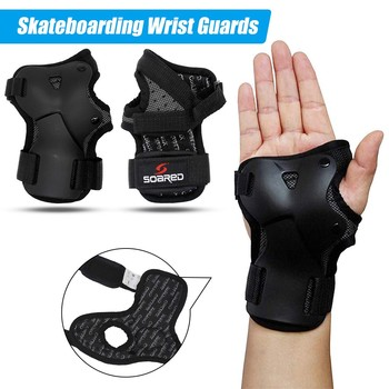 Roller Skating Wrist Support Gym Skiing Wrist Guard Skating Hand Snowboard Protection Ski Palm Protector For Men Women Children 1