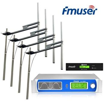 FMUSER FU-1000C 1U 1000W nadajnik FM + koder RDS + 4 * FU-DV2 antena + 30M 1 2 #8222 kabel tanie i dobre opinie NONE CN (pochodzenie) Frequency Modulation PLL Phase-locked loop 87 MHz ~ 108 MHz ± 75 Hz 50 KHz 50 Ω 0 -1000 W continuously adjustable