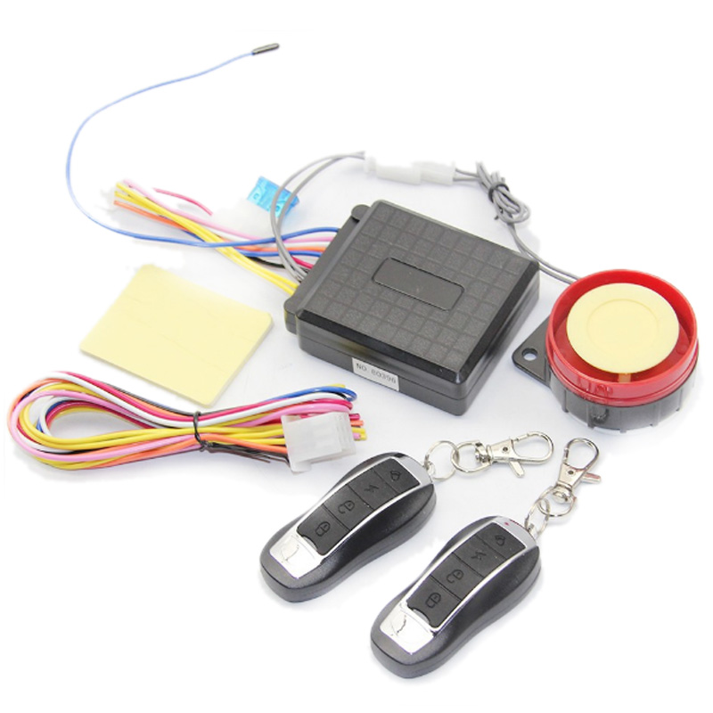 Motorcycle Anti-Theft Alarm Double Remote Control Start Flameout Full Function