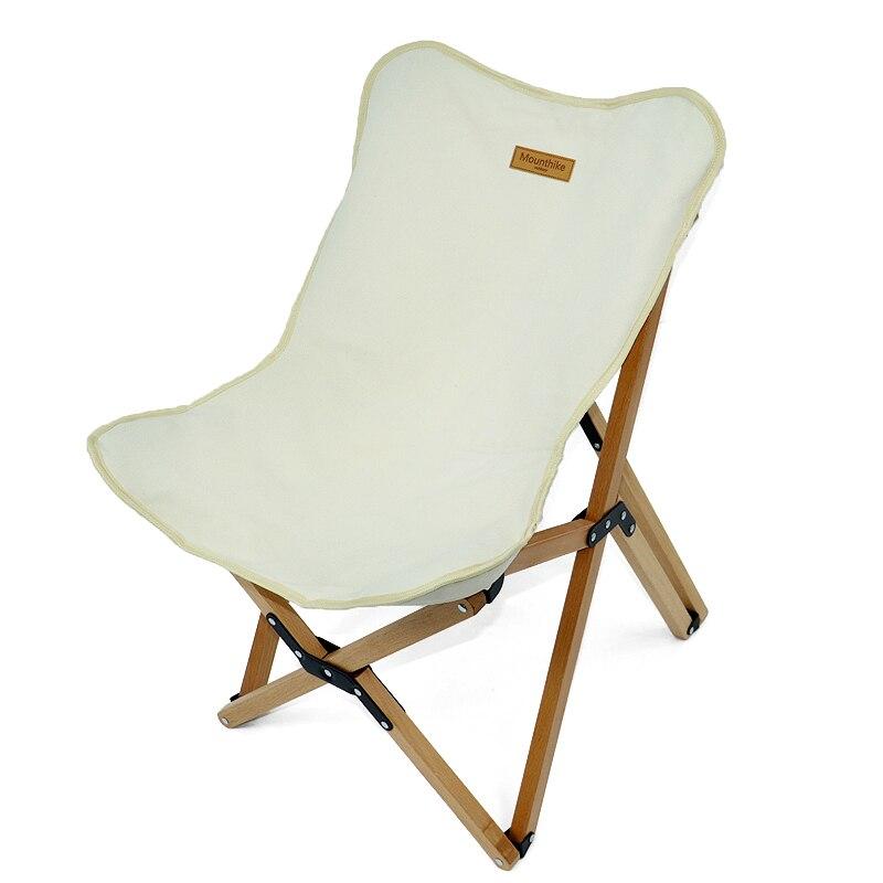 Folding Chair Garden Furniture Relax Beech Wood Bbq-Party Outdoor Camp New