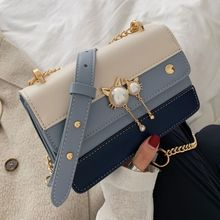 DikizFly Small Chains Women Messenger Bags For Women Bag 2019 Female Handbags Luxury Designer Shoulder Bags Panelled Flap Purse