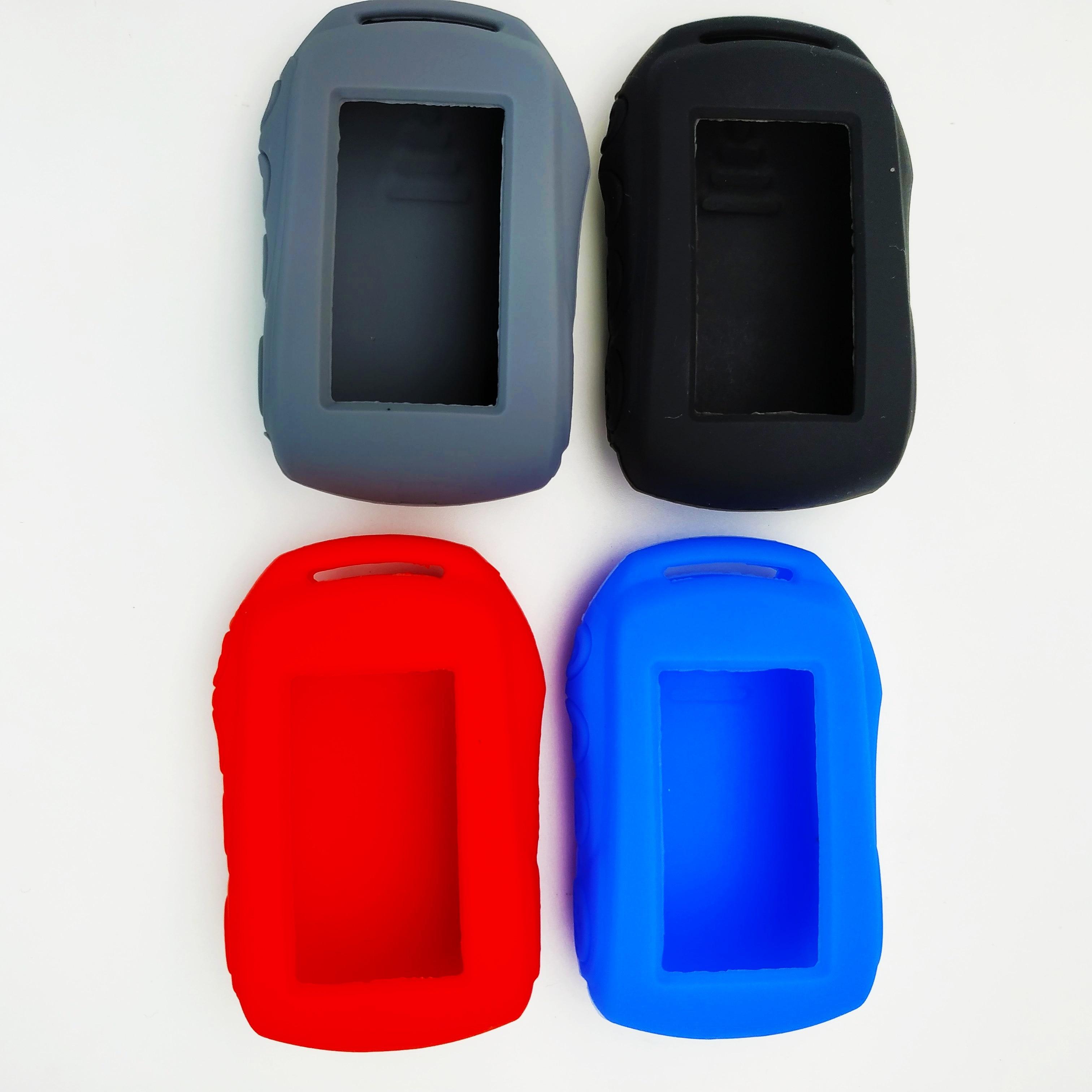 Silicone Case TW9.7 Remote Control Key Fob For Tomahawk 9.7 TW9.9 TW 9.9 Two Way Car Alarm System Tomahawk Fob Chain Keychain