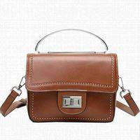 2020 New Design Genuine Leather Women Handbag Casual Fashion Single Shoulder Bag Ladies High Quality Cow Boston Crossbody Bag