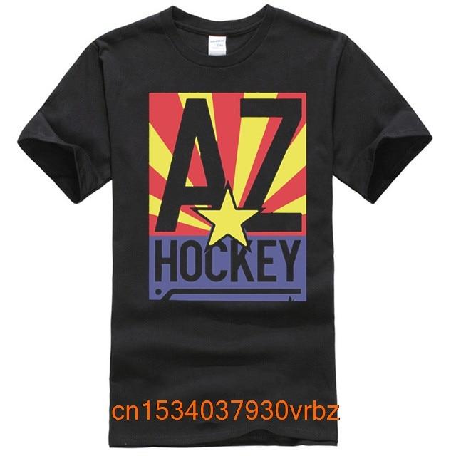 Hockey T Shirt Men's Arizona Hockey by Scrappers Hockey