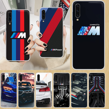 Sports car BMW Phone Case hull For SamSung Galaxy note A 5 7 8 9 20 30 40 50 51 60 70 71 80 2017 18 E transparent waterproof image