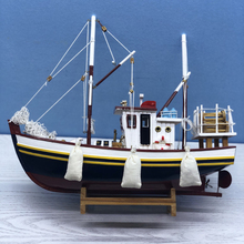 Luckk New Version Civil Ship Model Luxurious Sailboat Model 40*15*33CM Wooden Sailboat Toys Sailing Model Wood Decoration la salamandre 1752 model ship wood