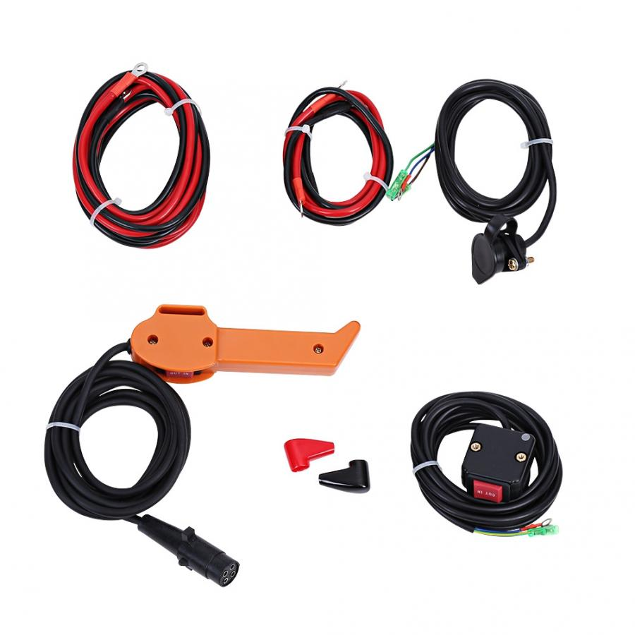 3600LB 12V Electric Winch Car Lifting Tools for Car Yacht ATV Truck Boat Trailer Quad Bike