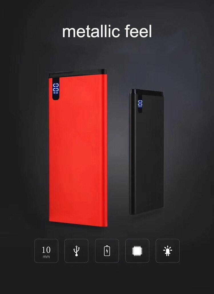 Hot Promo #5d7f9 Slim Real 30000mah Power Bank Portable