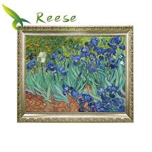 Full Diamond Painting Van Gogh Series Iris 40x50cm Diy Diamond Embroidery full diamond embroidery world famous the church at auvers by vincent van gogh 50cm 40cm diy diamond painting
