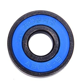 10Pcs/set 608 2RS Bearings Deep Groove Steel Sealed Ball Bearings 608RS 608-2RS 6003 6003zz 6003rs 6003 2z 6003z 6003 2rs zz rs rz 2rz deep groove ball bearings 17 x 35 x 10mm high quality