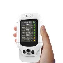 Mess Temperatur Und Feuchtigkeit Von Staub PM 2,5 Formaldehyd HCHO TVOC Mit Air Qualität Detektor Teser Sampler
