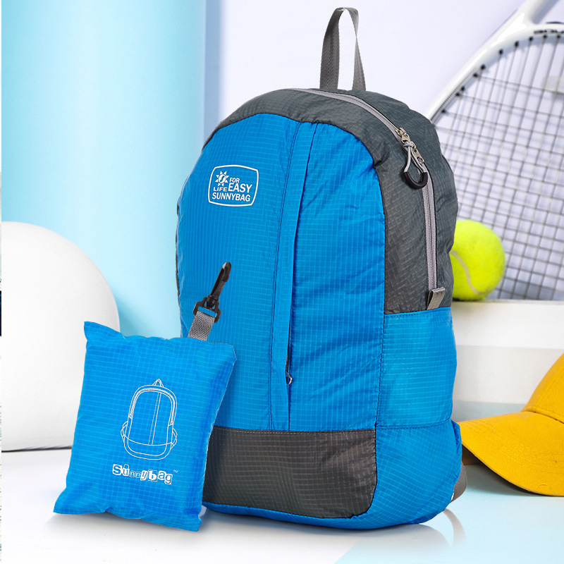Gift Backpack Enterprise League Building Outdoor Travel Bag Foldable Nylon Waterproof Backpack Customizable Logo