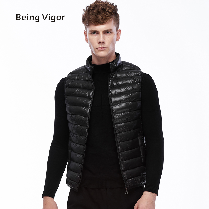 2019 Men Gilet Waistcoat Winter Cotton Padded Sleeveless Puffer Jacket Coats Outwear Men's Thicken Vest 4XL
