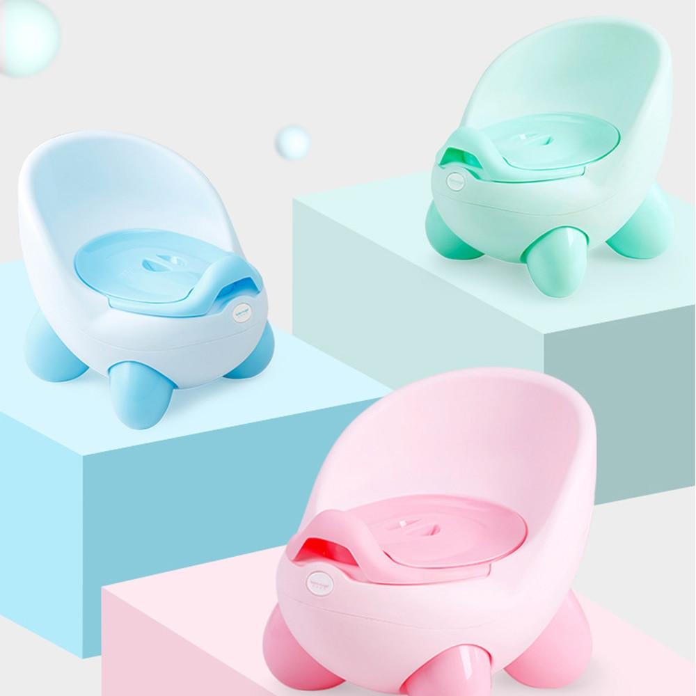 Baby Potty Toilet Seat Bowl Portable Training Pan Kids Bedpan Children'S Toilet Comfortable Backrest Pot Girls Boys Cartoon Pots