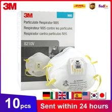 Masques de protection, 3M 8210 8210V 8210VCN KN95, Structure Anti PM2.5, brouillard industriel, environnement KN95, avec Valve
