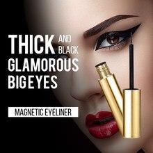 Magnet Eyelashes Waterproof And Long-Lasting Magnetic Eyeliner Quick-Drying Anti-Sweat Big Eye Makeup Liquid Eyeliner Metal Tool
