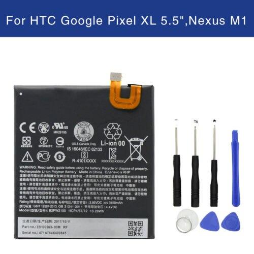 Swark Battery B2PW2100 B2PW2100 Google Pixel XL G-2PW2100-021-B Nexus M1 M1 Global TD-LTE G-2PW2200 Tools G-2PW2100