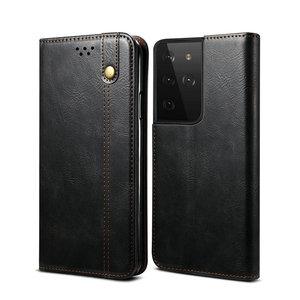 Image 5 - Leather Texture Magnet Book Cover for Samsung S21 FE 5G Case 360 Protect for Samsung Galaxy S21 Ultra Case S 21 Plus S21FE Coque