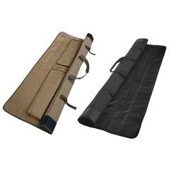 Zawijane 600D Oxford wędka Case Organizer torba do noszenia podróży na 4 szt. Wędka do przenoszenia w Torby wędkarskie od Sport i rozrywka na