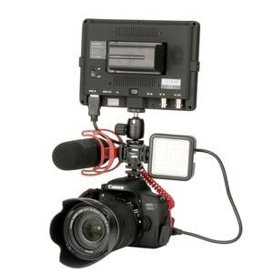 Image 5 - 写真撮影の補助光マイクエクステンションバースマートフォン用一眼レフカメラzhiyun dji osmo 4/ポケットジンバルトリプルホット靴マウント