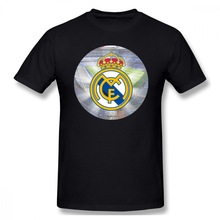 100% Cotton Real Madrid Ball Casual O-Neck Mens Basic Short Sleeve T-Shirt Tee Shirt Printed men clothes 2019