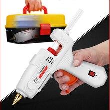 Термоплавкий клеевой пистолет с клеевым стержнем 7 мм 11 мм мини-пистолеты термо электрические термотемпературные инструменты