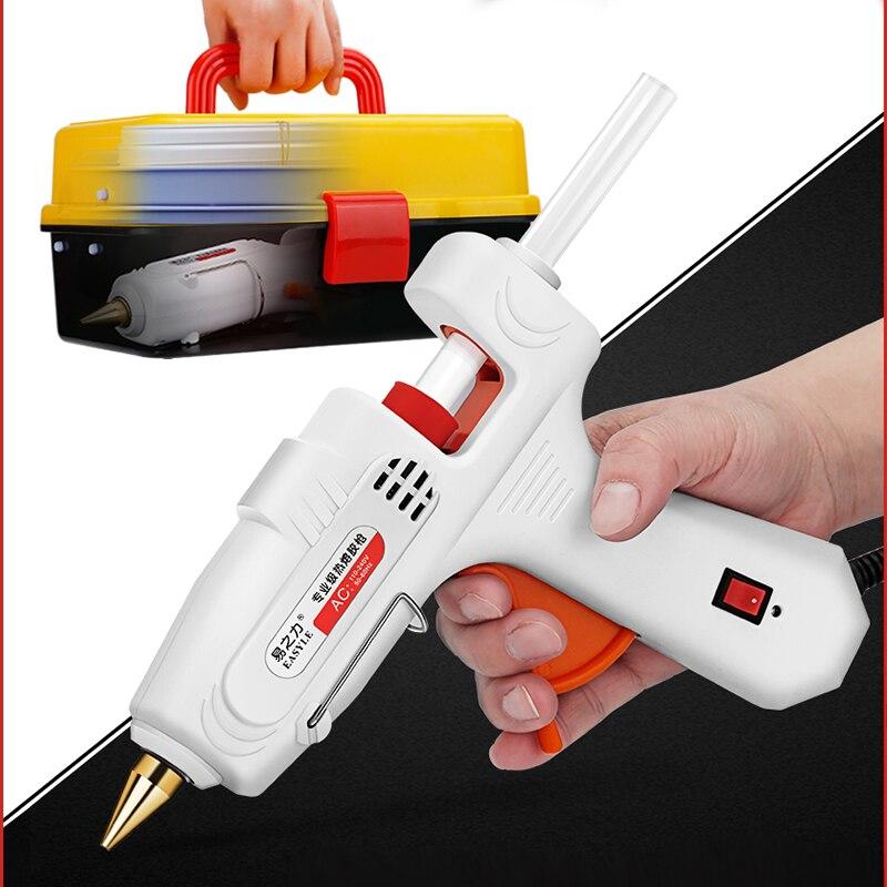 חם להמיס דבק אקדח עם מקל דבק 7mm 11mm מיני רובים החשמלי תרמי חום טמפרטורת כלים