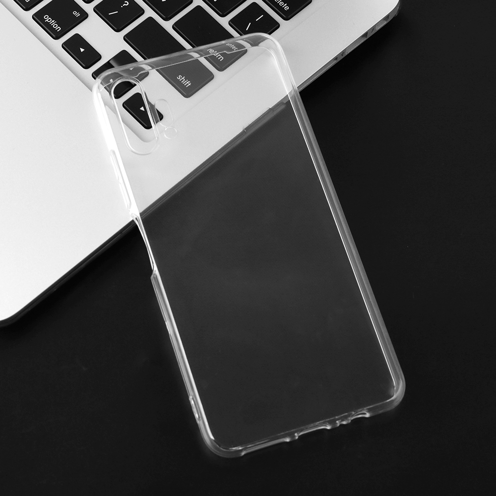 Phone-Cover-Case Fit-Casing Clear Anti-Knock Power Transparent Silicone Umidigi F2 Plain title=