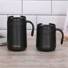 Paslanmaz çelik termal kahve kupalar termos şişesi seyahat ofis çay bardağı içecek su şişesi Termo Cafe Termo kupa Garrafa Termica