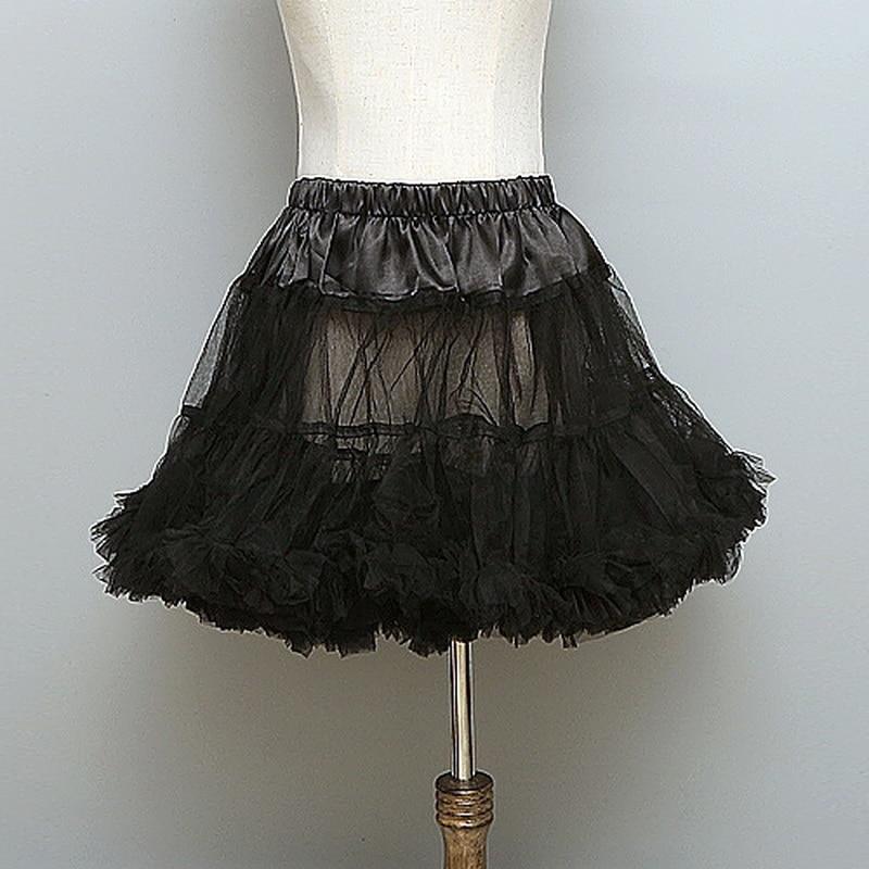 Кринолиновая Нижняя юбка с капюшоном, 2 слоя, пышное с оборками, свадебная Нижняя юбка, Цветочное платье-пачка для девочек, платье лолиты для костюмированной вечеринки, фатиновая юбка