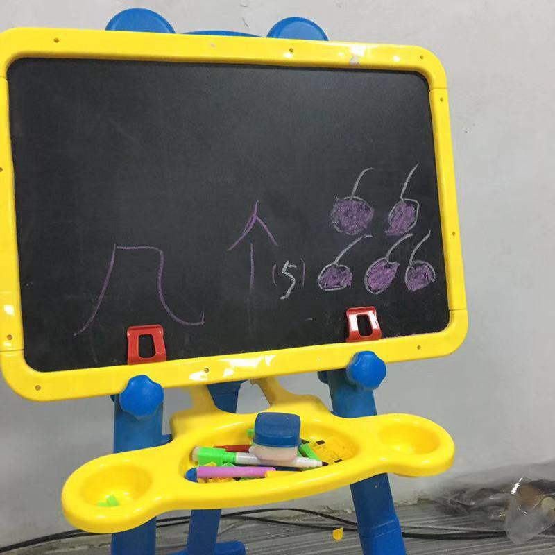 Children Multi-functional Sketchpad Easel Double-Sided Magnetic Drawing Board Baby Doodle Board Braced Scientific And Educationa