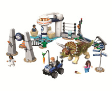 New lepining Jurassic World laboratory Blocks Dinosaur dinausore Park Set Building Kits Blocks Raptor Model Bricks Toy Gift lepin original jurassic world building blocks sets jurrassic park 4 dinosaur model compatible bricks toys for children