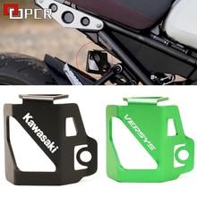 รถจักรยานยนต์ด้านหลัง Fluid Reservoir Guard Protector สำหรับ Kawasaki Z400 Z250 Z300 Z900 Z 400 250 300 900 Versys X300 300