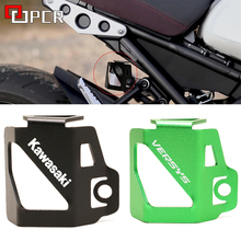 Motorcycle Rear Fluid Reservoir Guard Cover Protector For Kawasaki Z400 Z250 Z300 Z900 Z 400 250 300 900 versys x300 300