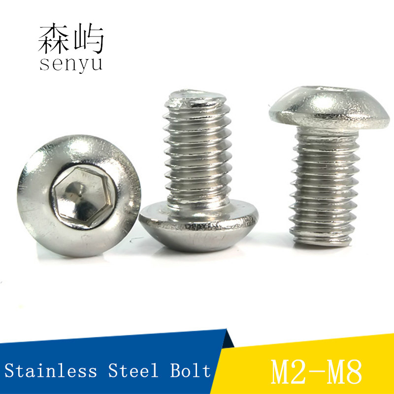 M5 M6 M8 MOTORCYCLE RETRO STAINLESS NUMBER PLATE NUTS AND SOCKET HEAD BOLT KIT