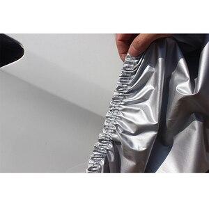 Image 5 - Pełne pokrowce samochodowe do akcesoriów samochodowych z bocznymi drzwiami otwarta konstrukcja wodoodporna do Toyota CHR RAV4 Camry Corolla CHR Yaris Avensis
