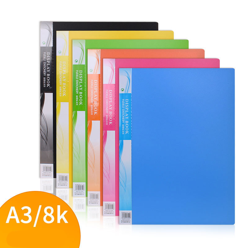 A3 Picture Folder /Poster Picture Album /30 Sheets Album Bag For Collection Of Paintings And Organize Picture Paper