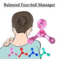 Mini Massager Tiefe Gewebe massage entspannen Trigger Punkt Arm Zurück Entspannung Shiatsu Massager Selbst-myofascial Release gesundheit pflege