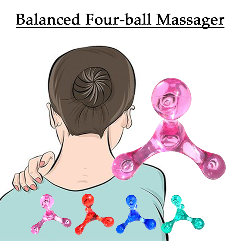 Mini Massager Deep Tissue massage relax Trigger Point Arm Back Relaxation Shiatsu Massager Self-myofascial Release health care