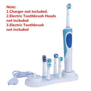Image 2 - Electric Toothbrush Plastic Stander support White Toothbrush Head Holder with Charger Hole for Oral B 3757 D12 D20 D16 D10 D36
