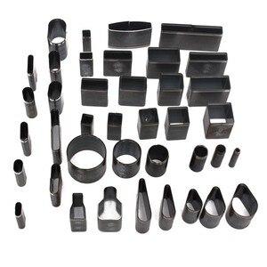 Image 2 - עור קרפט Diy 39 צורת סגנון חור חלול חותך אגרוף + כרית סט עבור טלפונים Camara