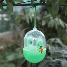 Yeni yüksek kaliteli Wasp sinek arı böcek bahçe asılı tuzak Catcher katil hiçbir zehirli veya kimyasal