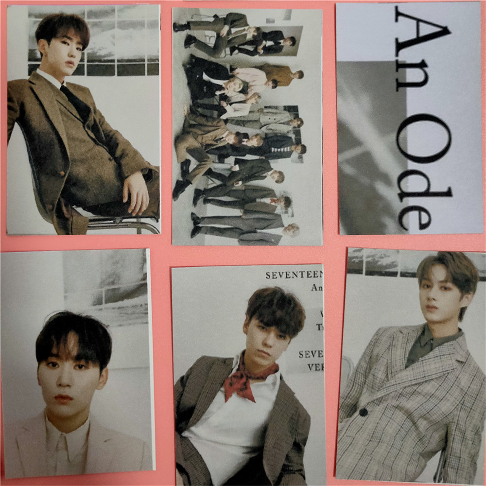 SEVENTEEN Photo cards HD Collection (16pcs/set)
