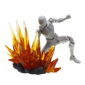 Image 4 - Energia Aura efekt dekoracja dla Gundam figurki postaci akcesoria do modeli żółty