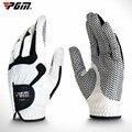 Мужские мягкие перчатки для гольфа PGM  из микрофибры  с частицами левой руки  дышащие  спортивные  Нескользящие варежки